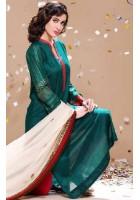 Teal Green Linen Suit