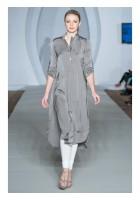 Grey Schmooze Silk Shirt