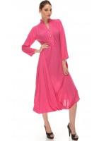 Pink Chiffon Kurti